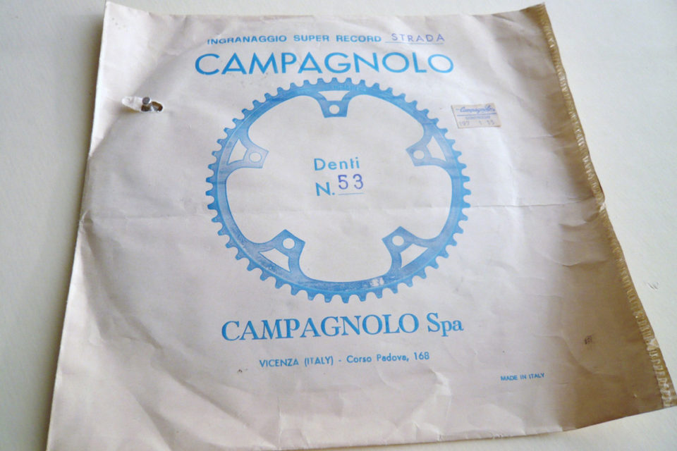 Campagnolo Strada Chainwheel 1