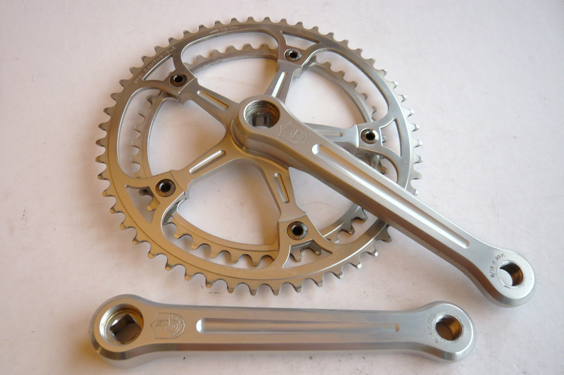 Campagnolo Super Record Crankset Classic Steel Bikes