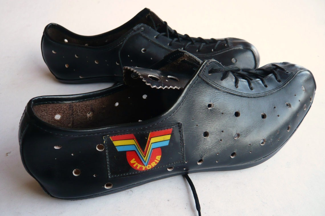 Vintage Cycling Shoes Vittoria Classic Steel Bikes