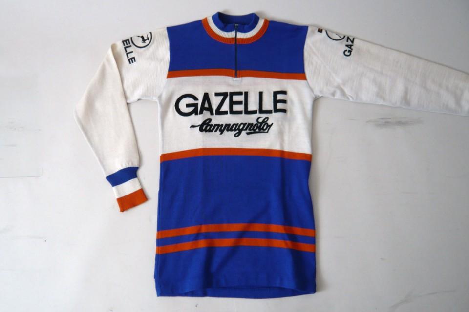 Gazelle Campagnolo Vintage Cycling Jersey