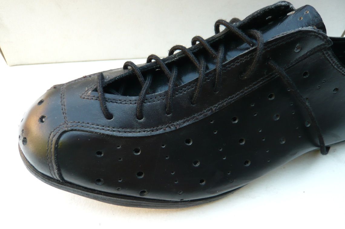 Italian Vintage Cycling Shoes Size 39 Classic Steel Bikes