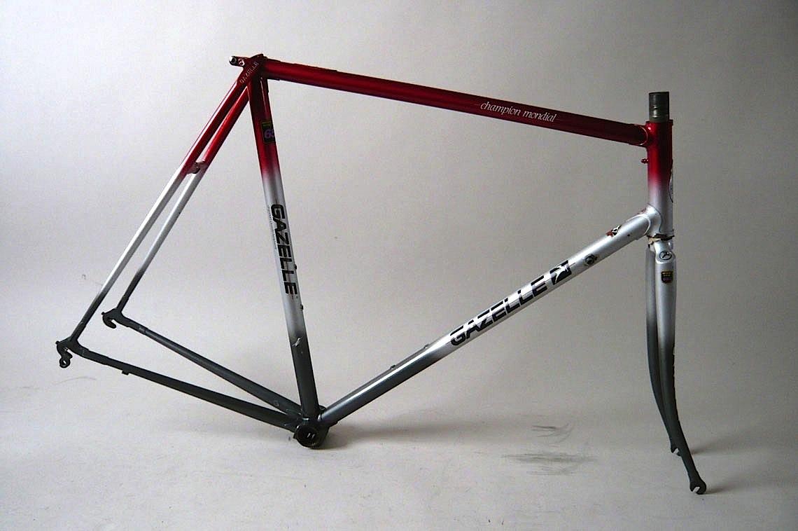 Gazelle AA-653 Frameset Size 58ct - Classic Steel Bikes