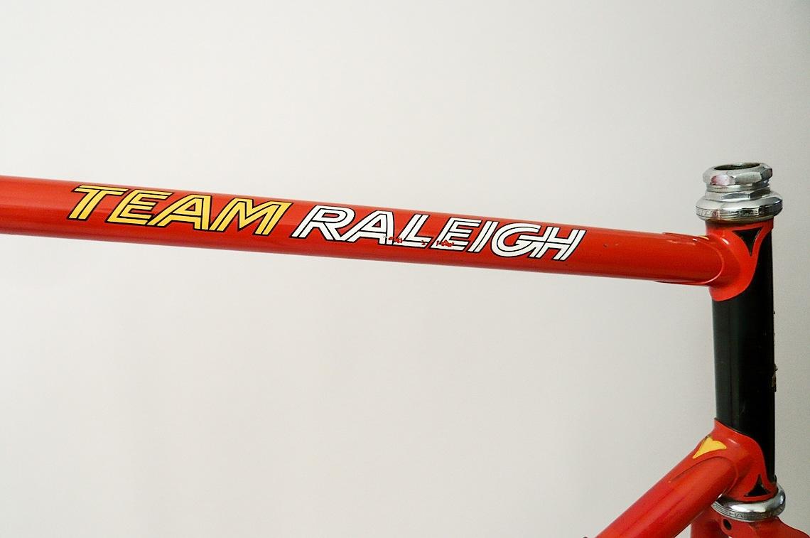 Team Raleigh Frameset