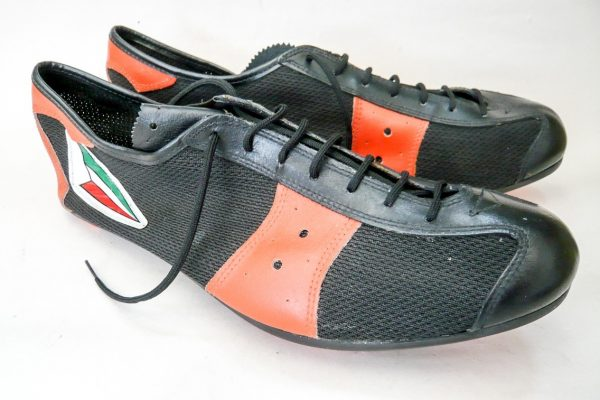 Italian Vintage Cycling Shoes Size 47