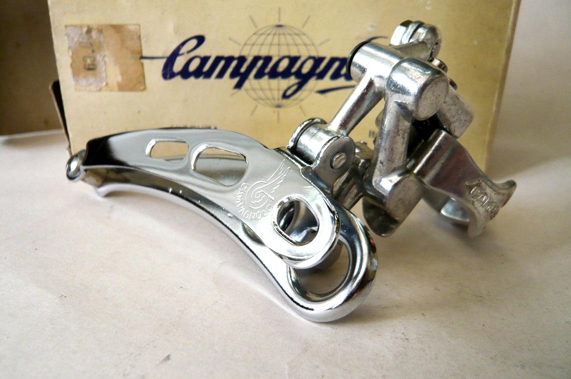 Campagnolo Record Front Derailleur Nos Nib Classic Steel