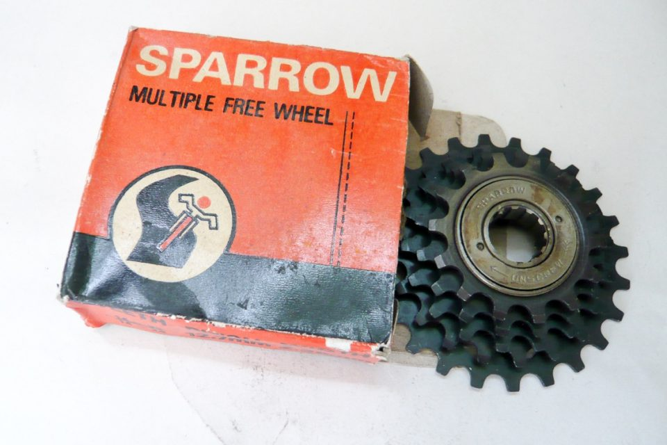 Sparrow 5 speed Freewheel NOS