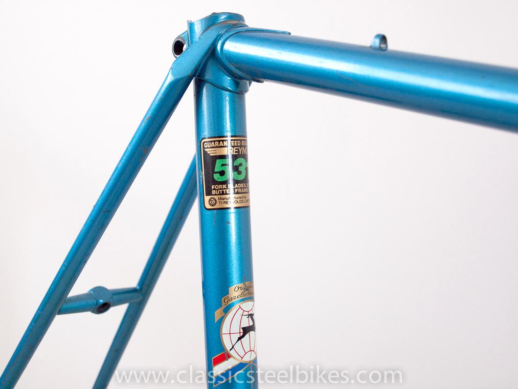 Gazelle Champion Mondial AB-Frame Baikal Blue Campagnolo