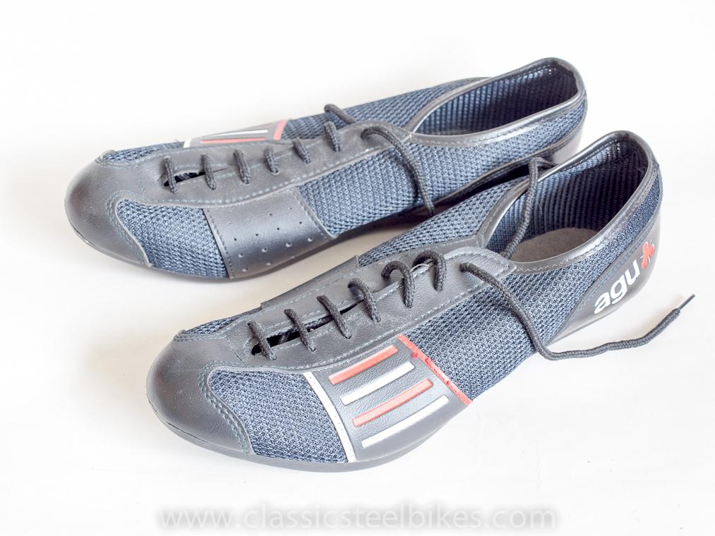 AGU Classic Cycling Shoes size 42 NOS