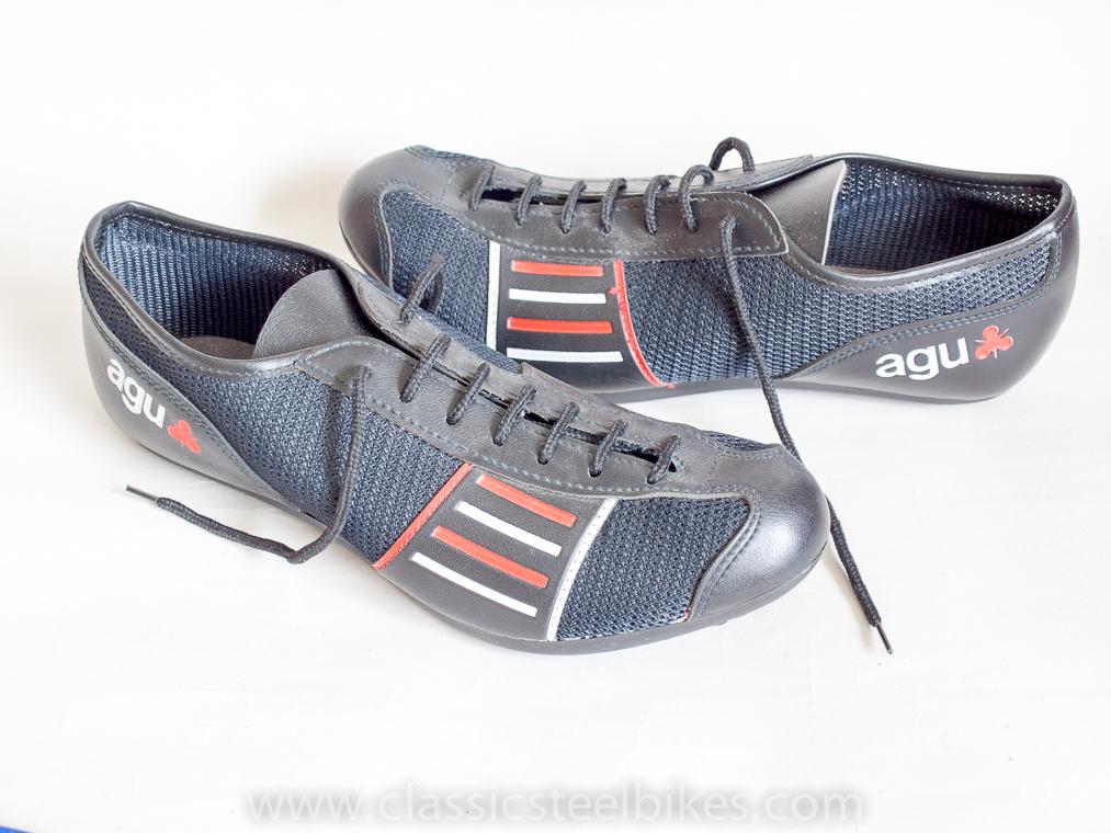 agu vintage classic cycling shoes