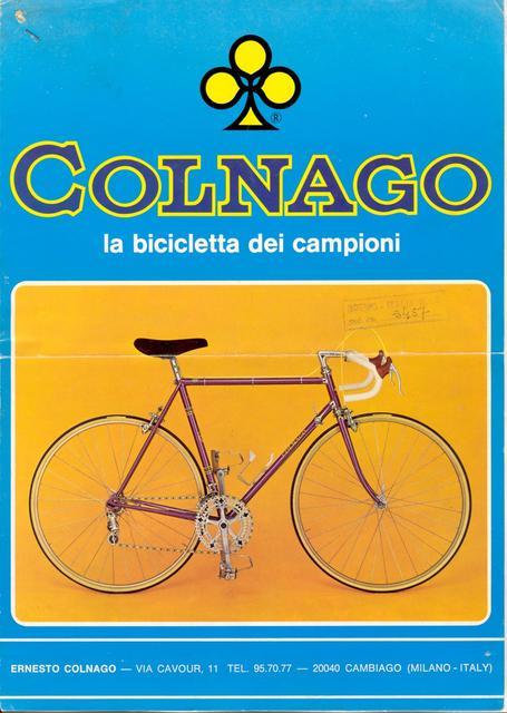 Colnago Super EL 1973