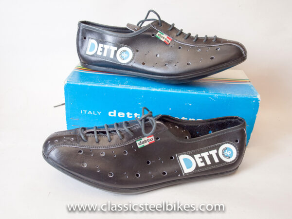 Detto Pietro Vintage Cycling Shoes Size 46