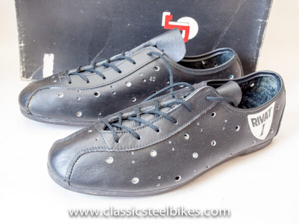 Rivat Vintage Cycling Shoes Size 40