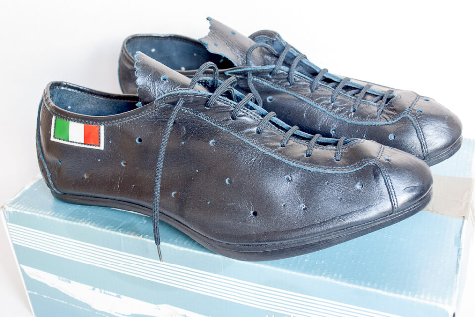 Italian Vintage Cycling Shoes